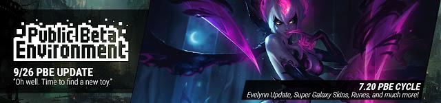 Surrender At 20 926 Pbe Update Evelynn Update Super Galaxy Skins