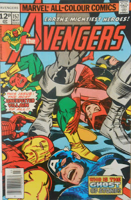 Avengers #157, Jack Kirby cover