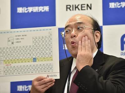 Empat Elemen Baru Ditambahkan ke Tabel Periodik