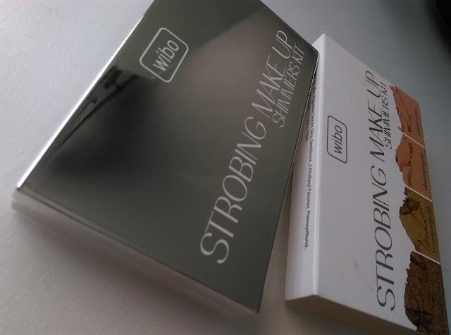 Wibo  Strobing Make Up Shimmer Kit -  paleta rozświetlaczy do twarzy