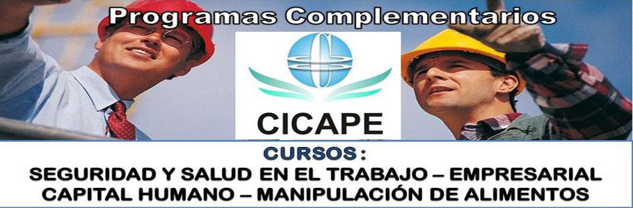 Cursos CICAPE