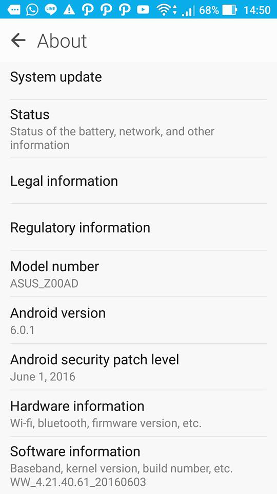Asus zenfone 2 прошивка android 6 0