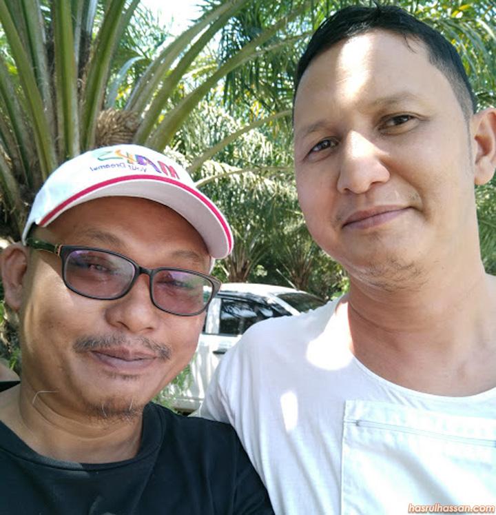 Hasrul Hassan dan Sukiman Mustafa (Nanang)