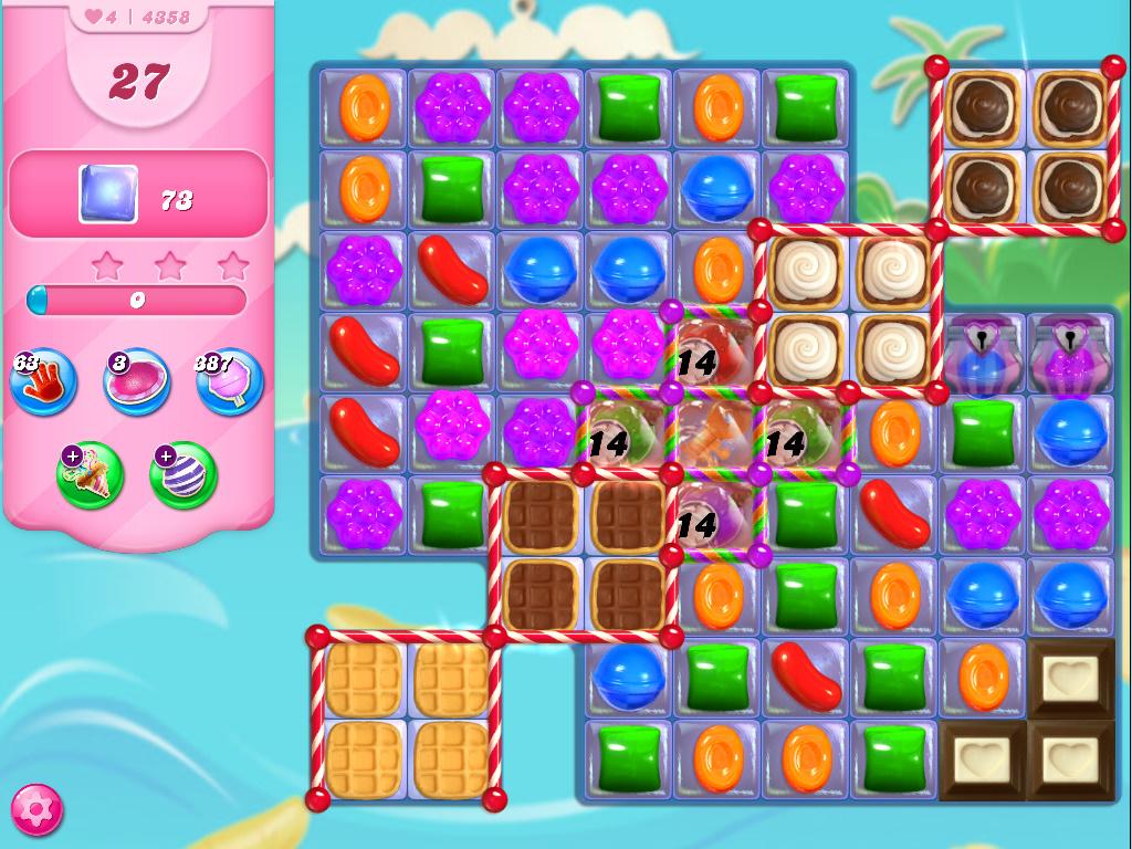 Candy Crush Saga level 4358