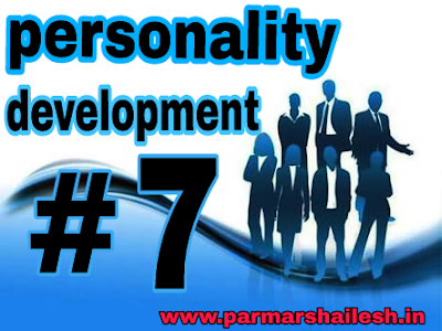 Persnality development