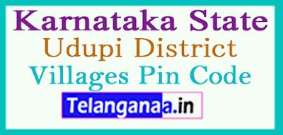 Udupi Pin Codes in Karnataka State