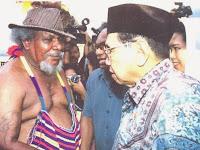 Entengnya Gus Dur saat Hadapi Kelompok Sparatis di Papua