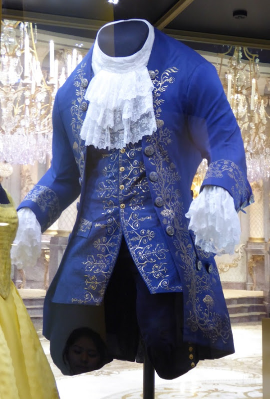 Dan Stevens Beauty and the Beast live-action film costume