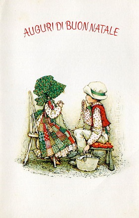 Set di 10 biglietti pieghevoli l con design a soli 11,69 € anziché 12,99 €. Brocante Viola Vintage Cartoline Di Natale Vintage