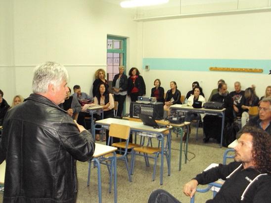 Το Εσπερινό Γενικό Λύκειο Ναυπλίου σε εκπαιδευτικό πρόγραμμα του Φεστιβάλ Ντοκιμαντέρ Πελοποννήσου