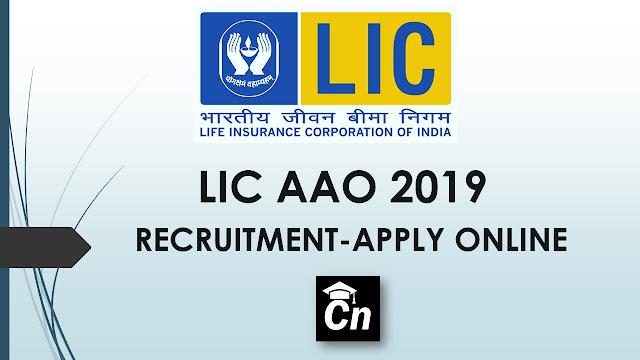 LIC AAO 2019 Recruitment - Apply Online, LIC Logo, Careerneeti.com Logo