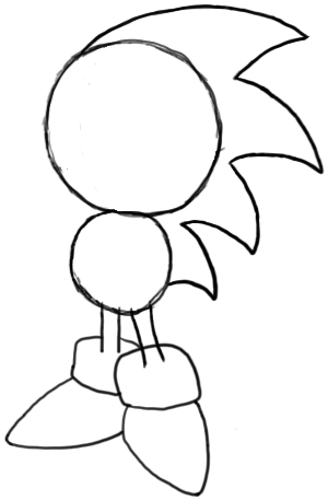 How To Draw Sonic The Hedgehog Draw Central