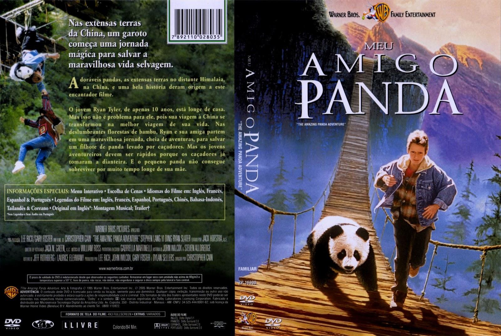 Meu Amigo Panda (1995) – DVD-R Oficial