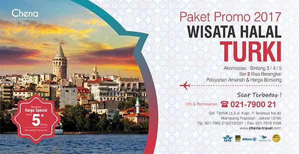 Paket Tour Turki 2017 Promo