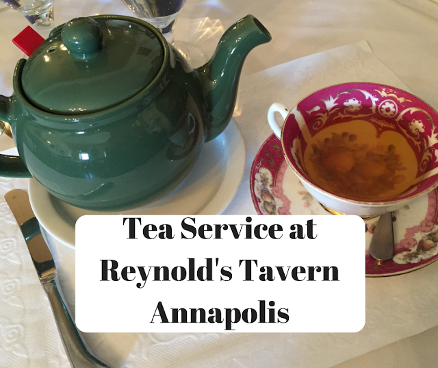 Tea Service at Reynold's Tavern in Annapolis