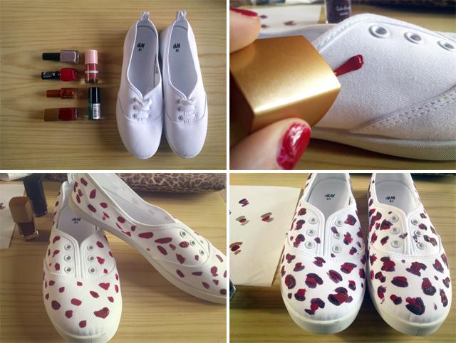 Diy ideas para decorar mis zapatillas maquillaje - Ideas faciles para decorar ...