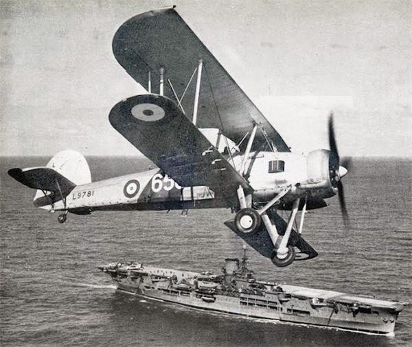 HMS Ark Royal Fairey Swordfish World War II worldwartwo.filminspector.com