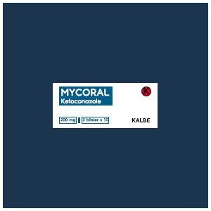 Mycoral Tablet : Ketoconazole 200 mg