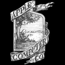old logo apple