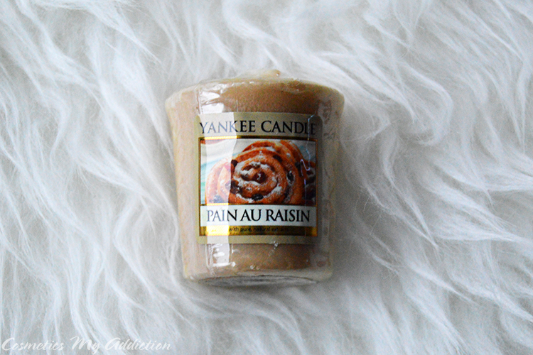 yankee candle - pain au raisin