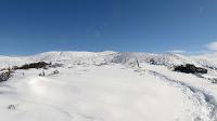 Aspecto nevado del Matagalls