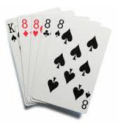 Four of a Kind Urutan Kombinasi Kartu Kemenangan Dalam Permainan Poker