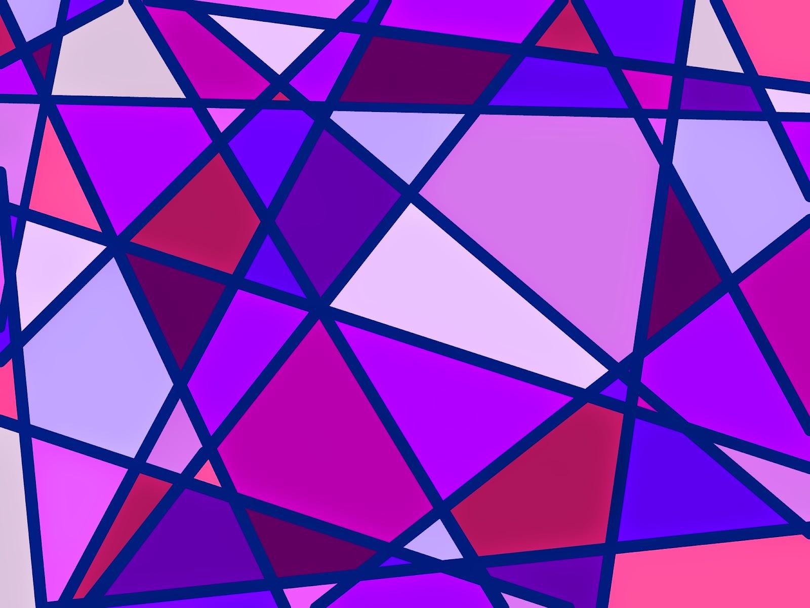 Muster Mosaik violett