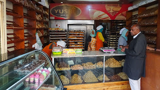 Addis Ababa Piazza has good bread in its bakery