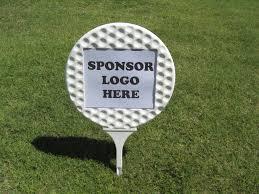 patrocínio no campo de golfe