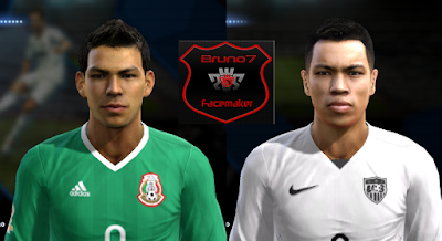 PES 2013 Copa América 2016 Facepack by Bruno7 Facemaker
