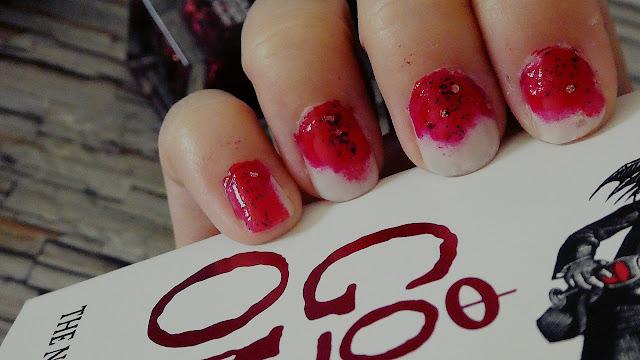 Good Omens Nail Design
