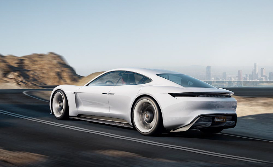 2020 Porsche EV Sedan