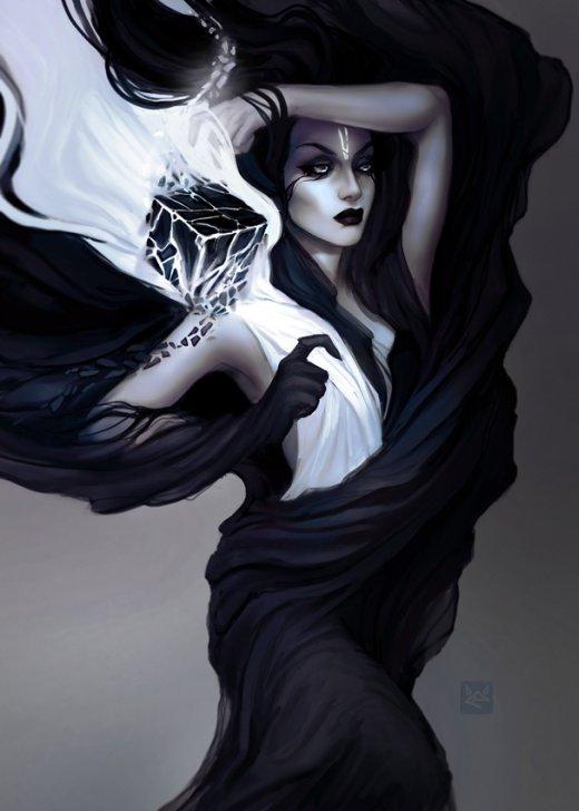 Catherine Koht exellero deviantart ilustrações fantasia mulheres