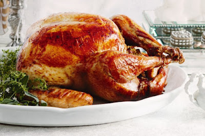 Barley-stuffed turkey with brandy and cranberry gravy meal ideas