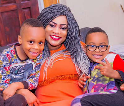 See How Popular Actress Opeyemi Aiyeola Celebrated The Birthday Of Her Cute Son Who Turns 6 Today