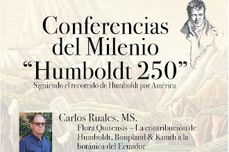 Ambato será sede de una nueva Conferencia del Milenio 'Humboldt 250'