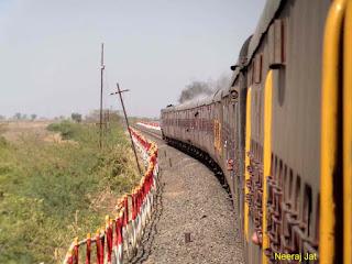 गुजरात मीटरगेज ट्रेन यात्रा: बोटाद से गांधीग्राम