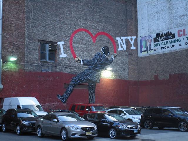 """Я люблю Нью-Йорк. Ник Уолкер. (""""I Love NY"""", Nick Walker)"""