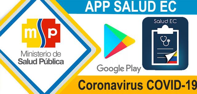 coronavirus ecuador covid 19 app saludEC