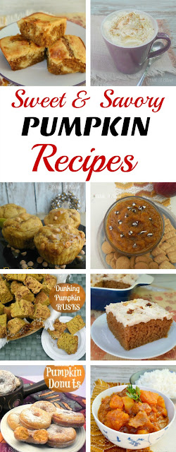Sweet and Savory Pumpkin Recipes