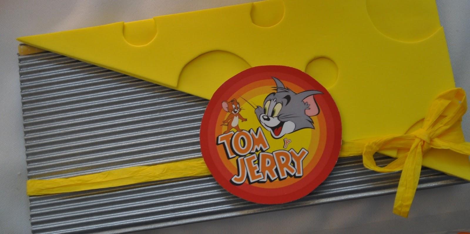 Mundo Tiaré Candy Bar Tom Y Jerry