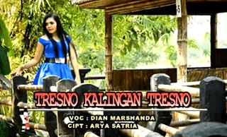 Lirik Lagu Tresno Kalingan Tresno - Dian Marshanda
