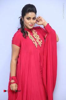 Actress Poorna Latest Stills in Red Dress at Rakshasi First Look Launch  0089.JPG