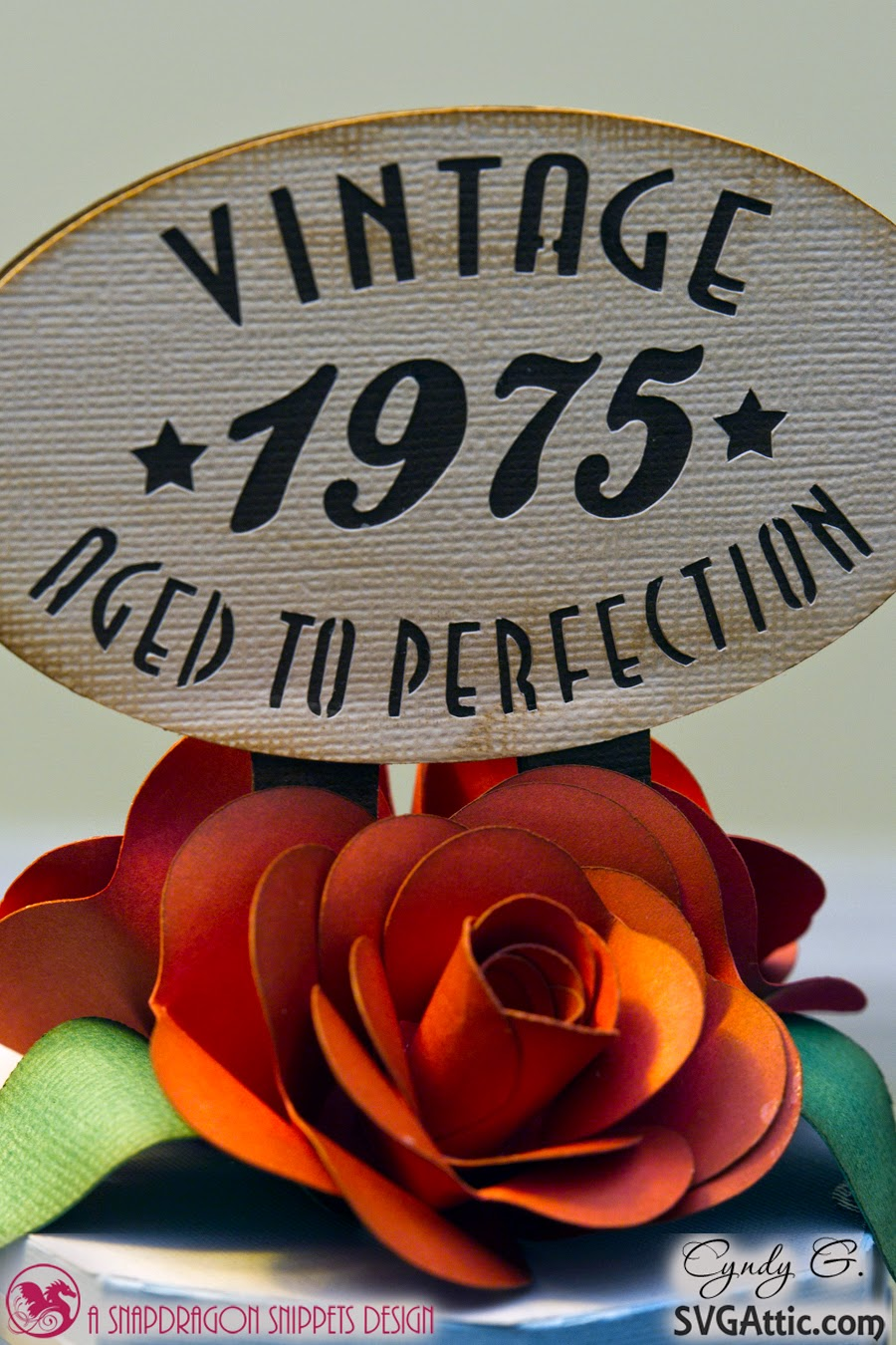 "Close of ""Vintage sign"" and beautiful red roses"