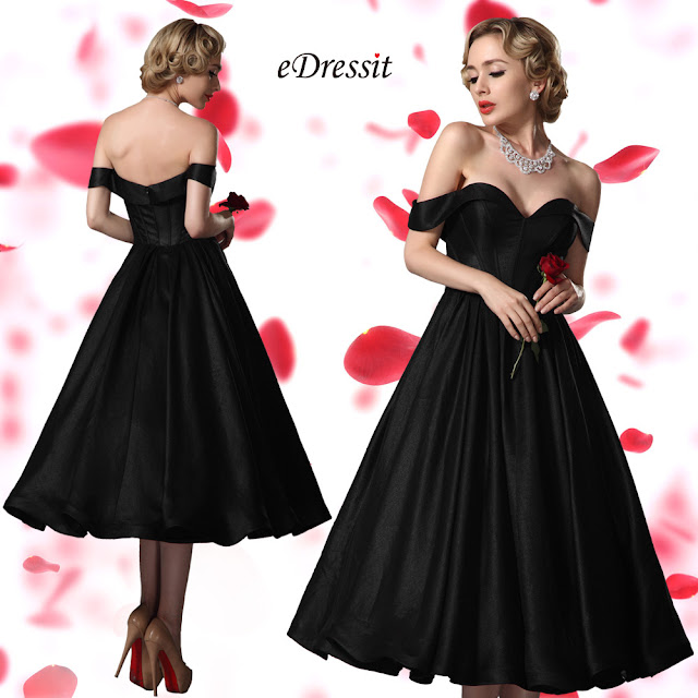 6a4103f57c5 Rafraîchissez votre parti garde-robe avec cette robe courte vintage! elle a  des caractéristiques chics