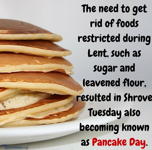 pancake tuesday 2018