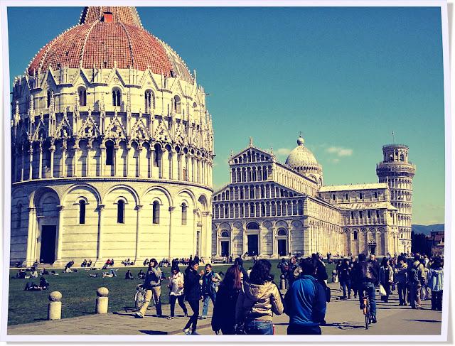 Italie, Pise, tour, cathédrale, duemo