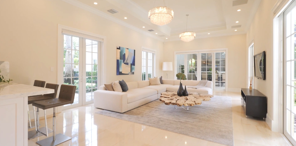 49 Interior Design Photos vs. 10915 SW 62nd Ave, Pinecrest, FL Luxury Mansion Tour