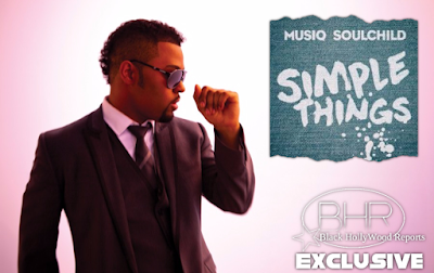 "Soul Singer Musiq Soulchild Is Back With New Music ""Simple Things"" , And Announces Tour Dates"