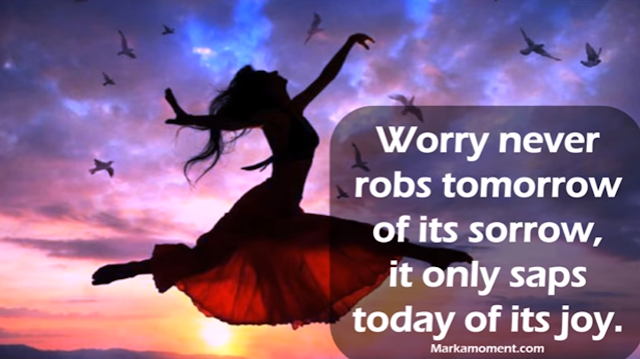 21 empowering Quotes on worrying and what to do about it - Video